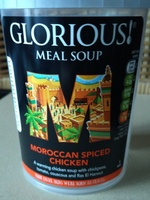 Moroccan spiced checken soup - Product