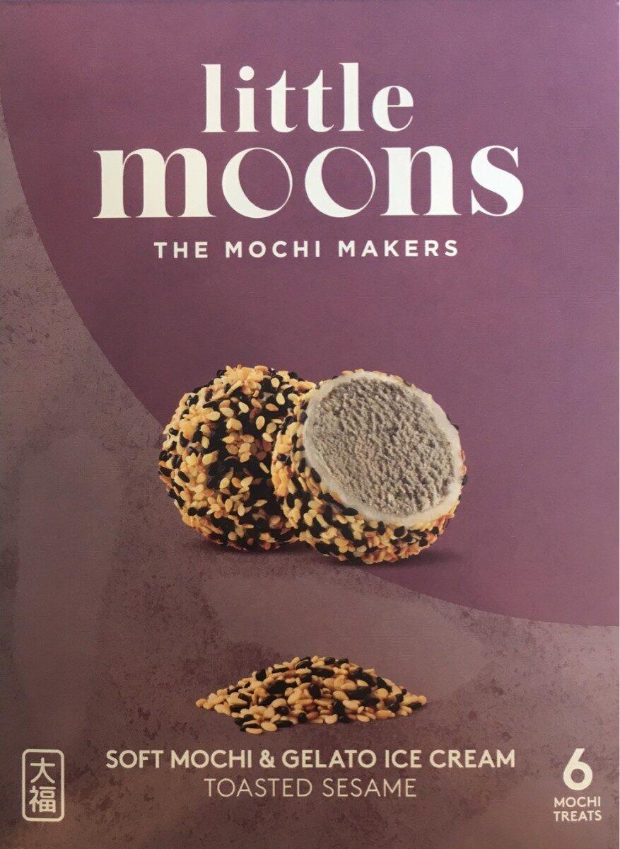 Mochi glacé aux Sesames grillées - Product