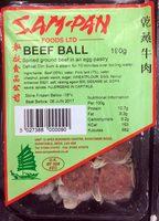 Beef ball - Produit - en