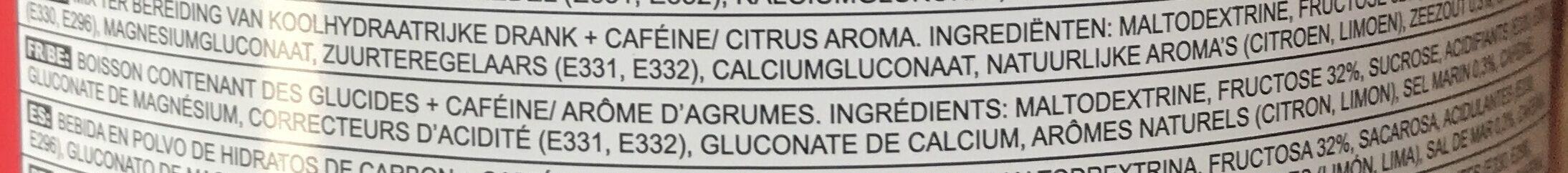 Energy Source Xtreme Citrus 1.4 KG [misc. ] - Ingredients - fr