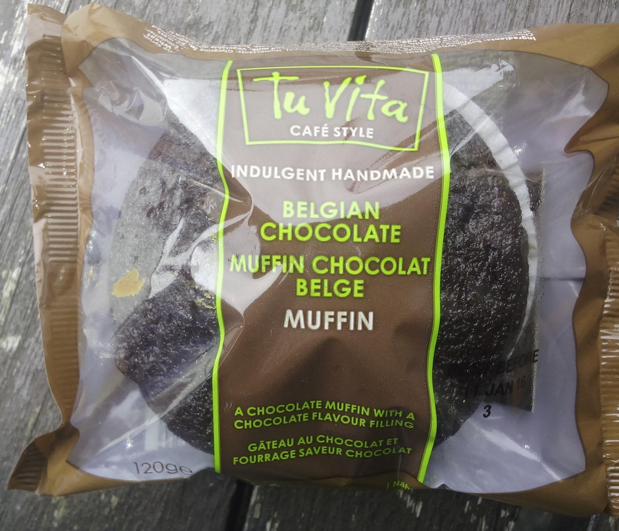 Muffin chocolat Belge - Tu Vita - 120 g