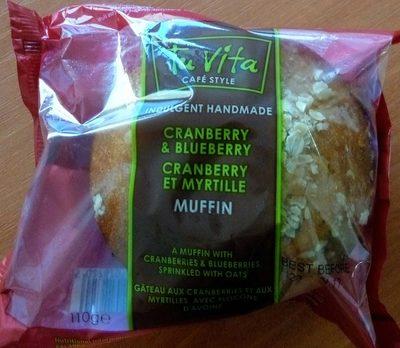 Muffin Cranberry et Myrtille - Produit - fr