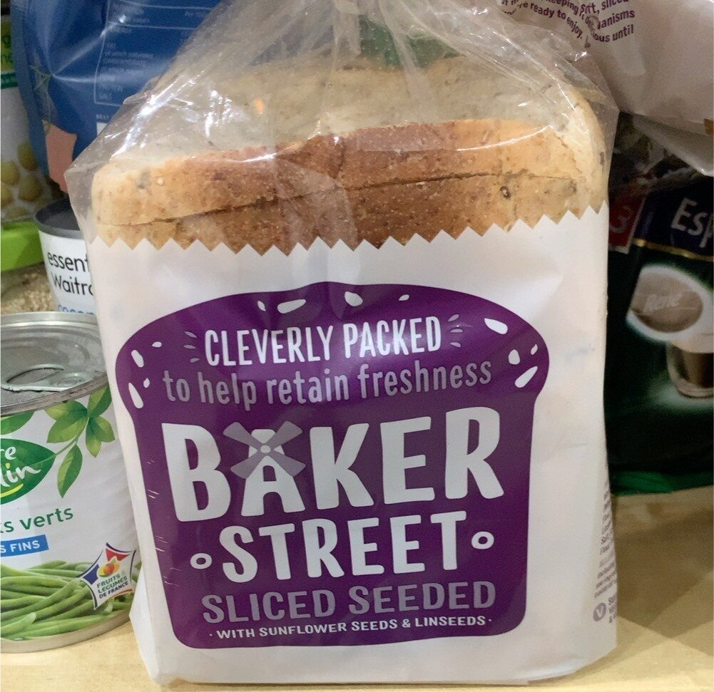 Baker Street Sliced Seeded - Product - fr