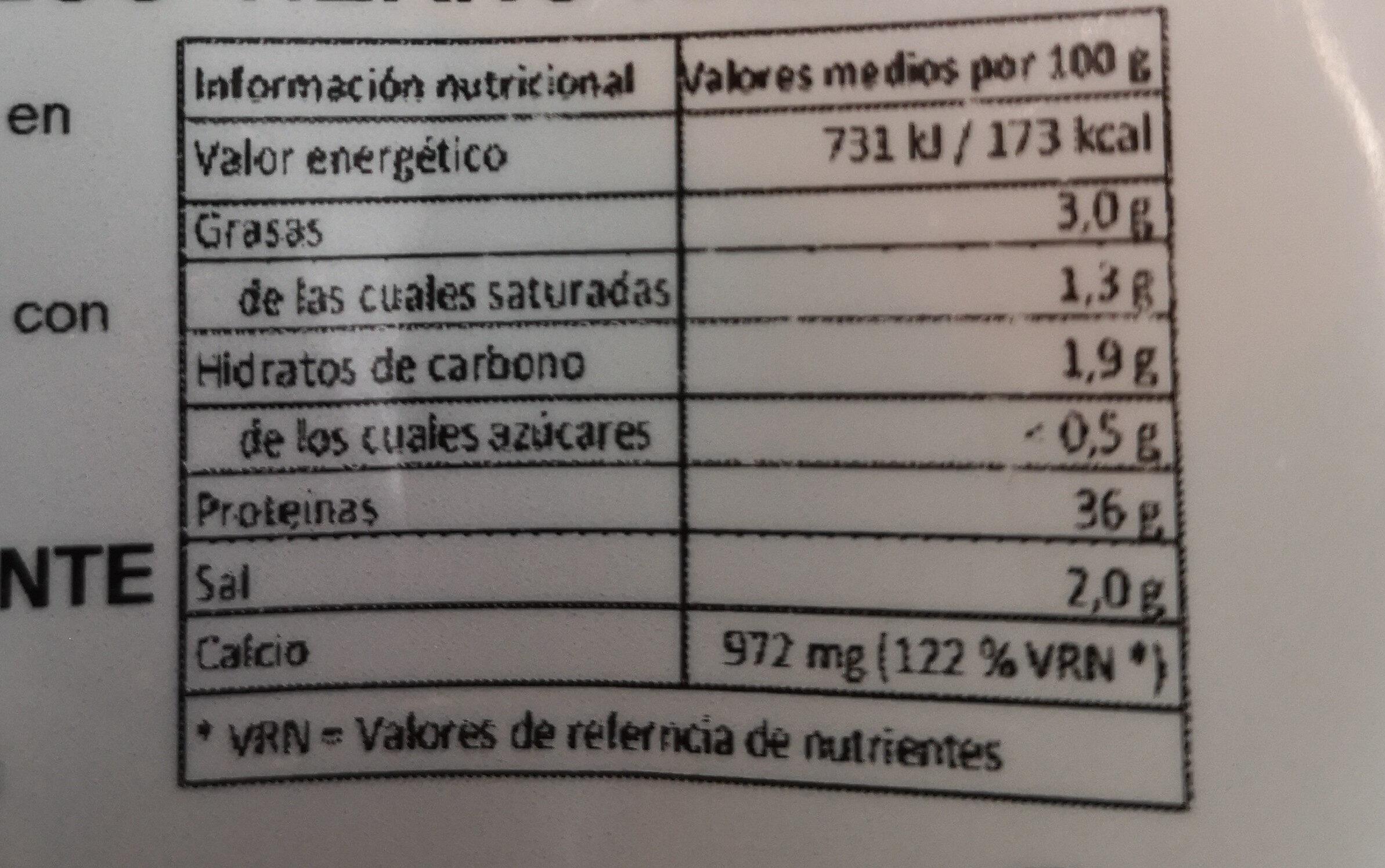 eatlean ratllat - Valori nutrizionali - en