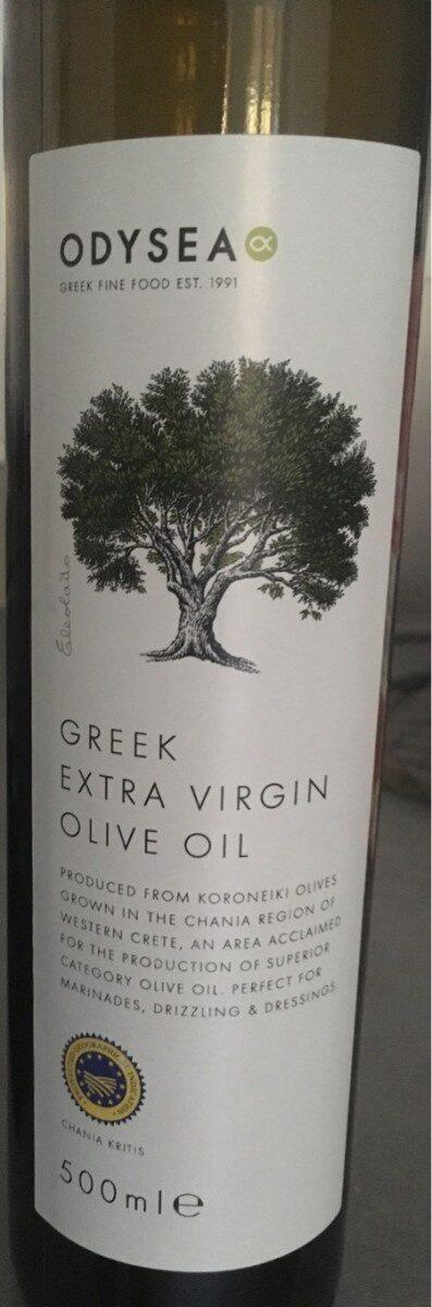 Greek extra virgin olive oil - Product - en