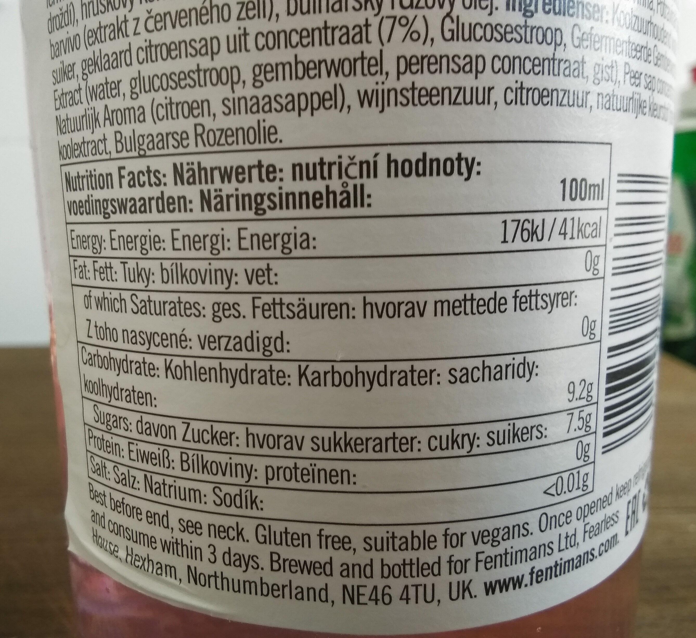 Tagine Paste - Nutrition facts - en