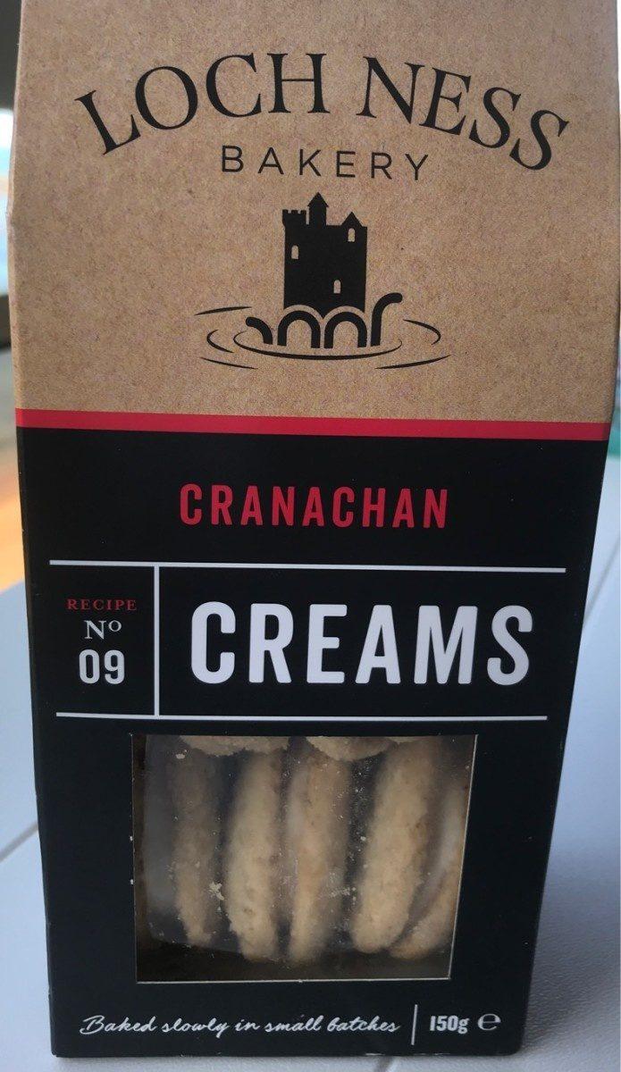 Cranachan creams - Produit