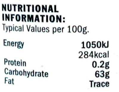 Seville Orange Fine Cut Marmalade - Nutrition facts
