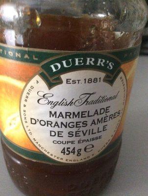 Seville Orange Thick Cut Marmalade - Ingrédients