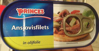Ansjovisfilets in olifolie - Product - nl