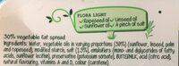 Flora Light Spread - Ingredients - fr