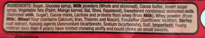 Munchies - Ingredients - en