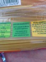 Capellini - Ingrediënten