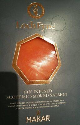 Saumon fumé mariné aux agrumes - Product