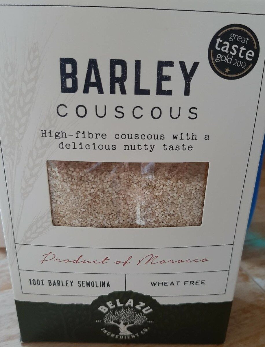 Barley couscous - Produit - en
