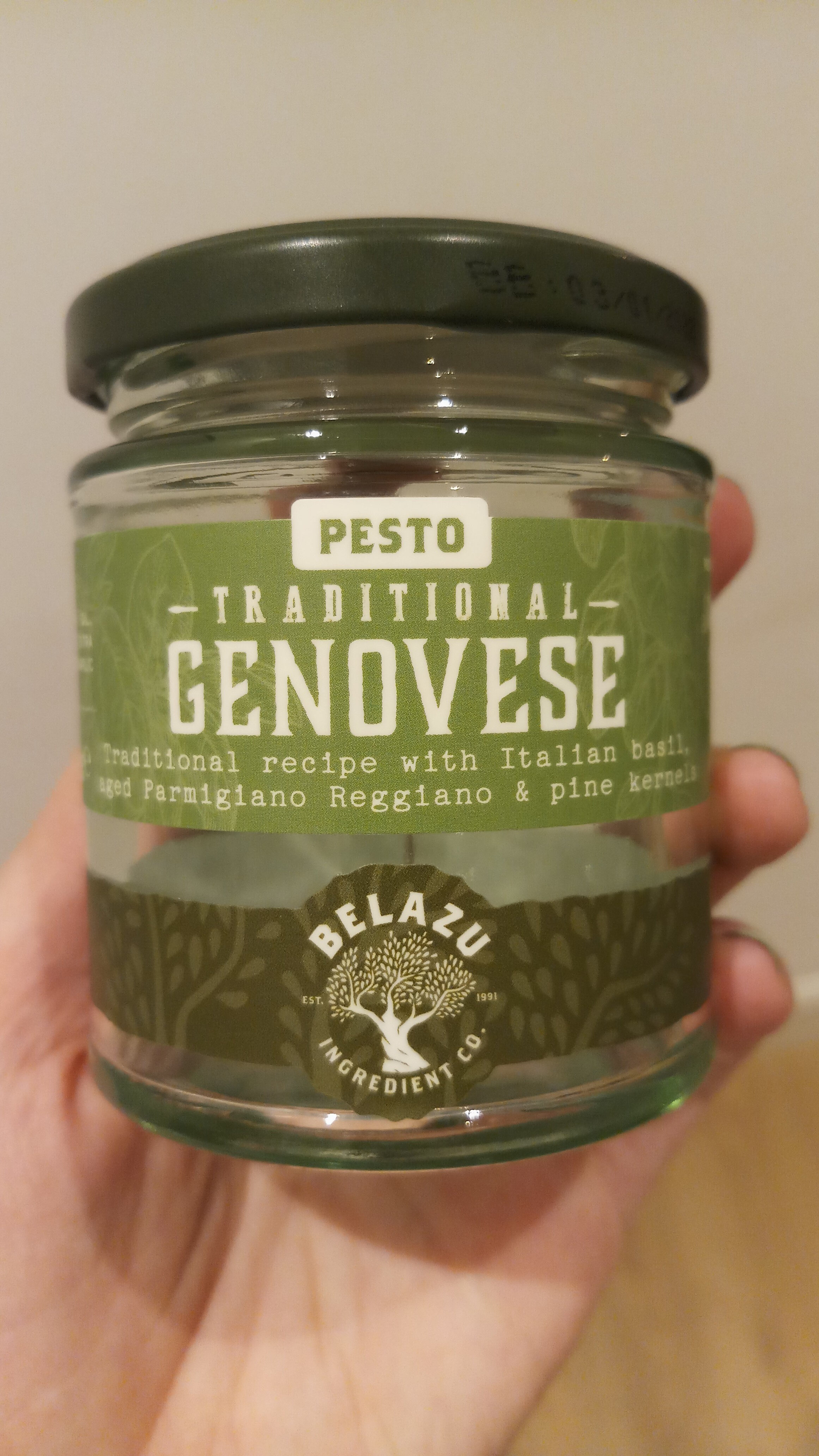 Traditional Genovese Pesto - Produit - en