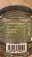 Traditional Genovese Pesto - Informations nutritionnelles - en