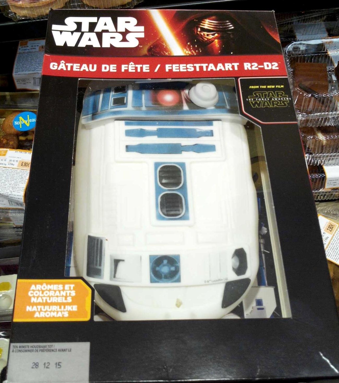 Gâteau de fête Star Wars R2,D2 , Produit