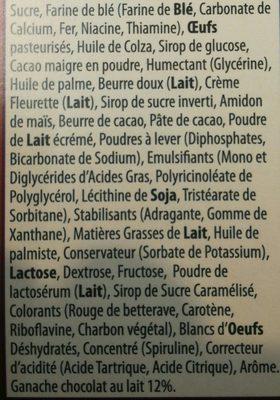 Gâteau anniversaire - Ingrédients - fr