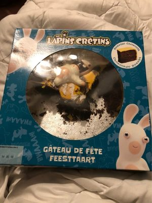 Gâteau Les Lapins Crétins Lightbody - Product