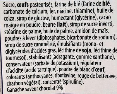 Gâteau de Fête T-Rex - Ingredients