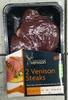 2 Venison Steaks - Product