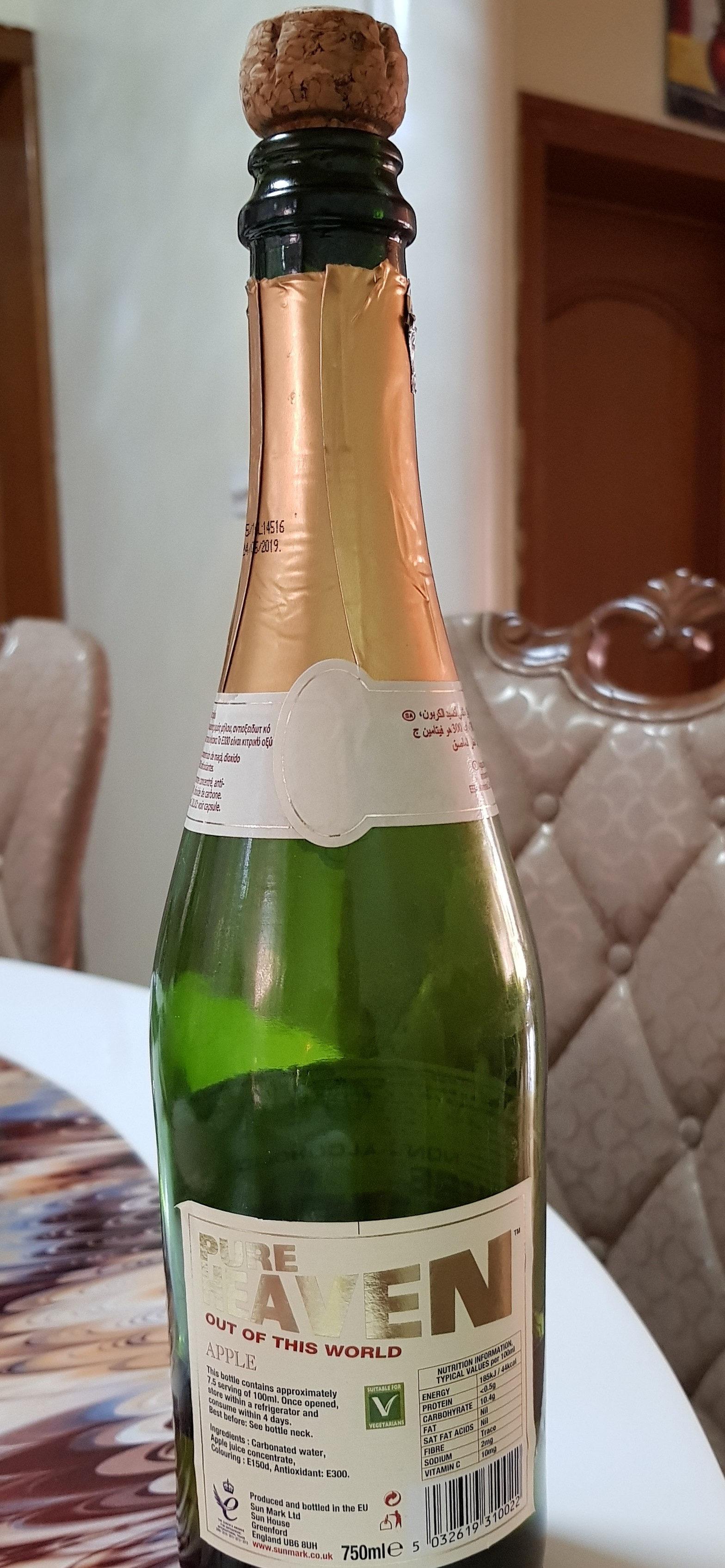 Pure Heaven Sparkling Drink - Product - en