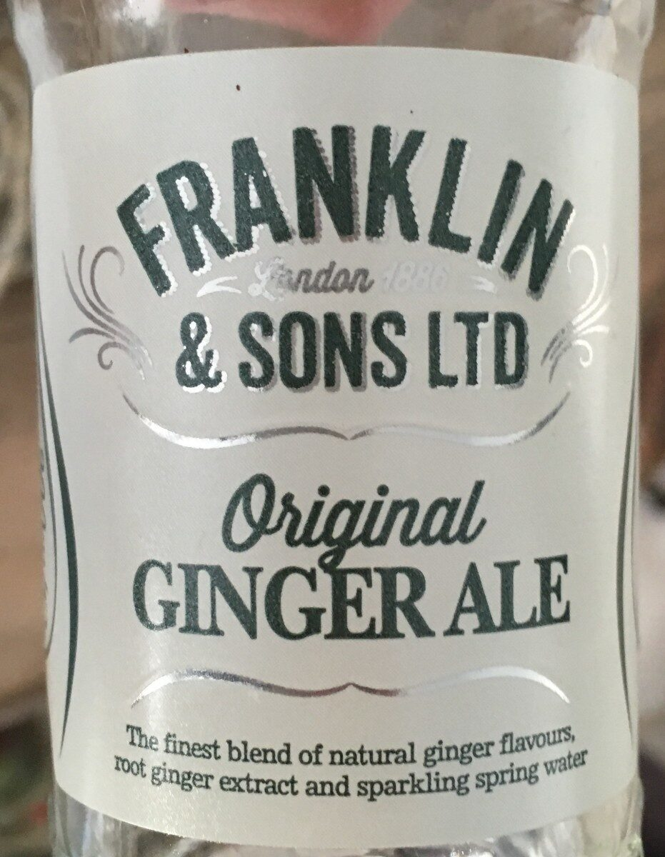 Ginger ale - Prodotto - en