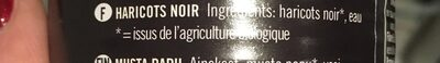 Haricots Noirs - Ingredients - fr