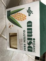 Amisa Organic Corn And Rice Crispbreads - Product - fr