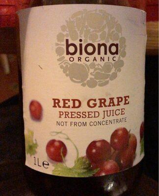 Red Grape Pressed Juice - Prodotto - fr