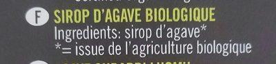 Agave - Ingrediënten