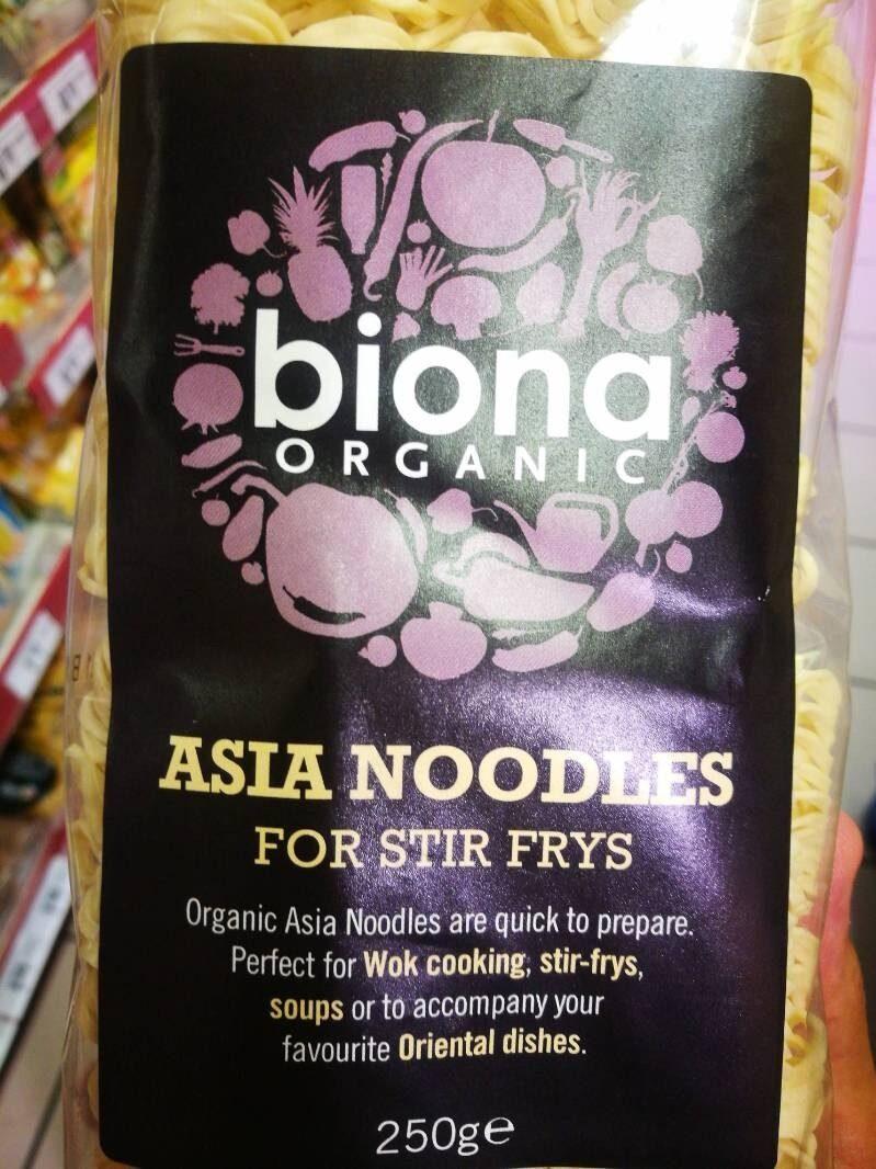 Nudler Asia Biona 250 g økologisk - Product