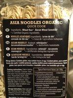 Nudler Asia Biona 250 g økologisk - Ingrediënten