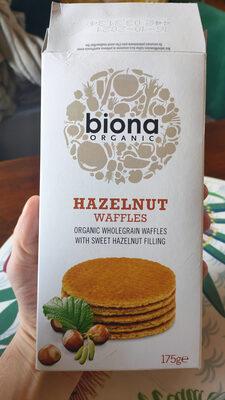 Hazelnut Waffles - Produit - fr