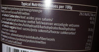 Peanut butter crunchy - Voedingswaarden - fr