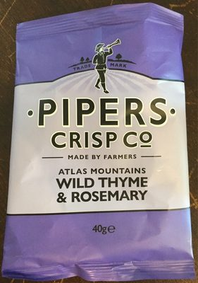 Pipers Wild Thyme & Rosemary - Product - fr