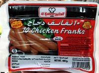 10 Chicken Franks - Produit