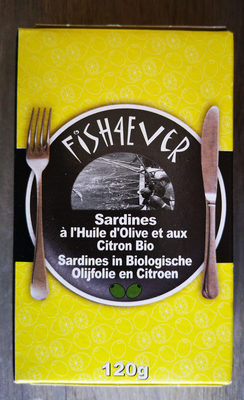 SARDINES HUILE OLIVE CITRON BIO - Produit