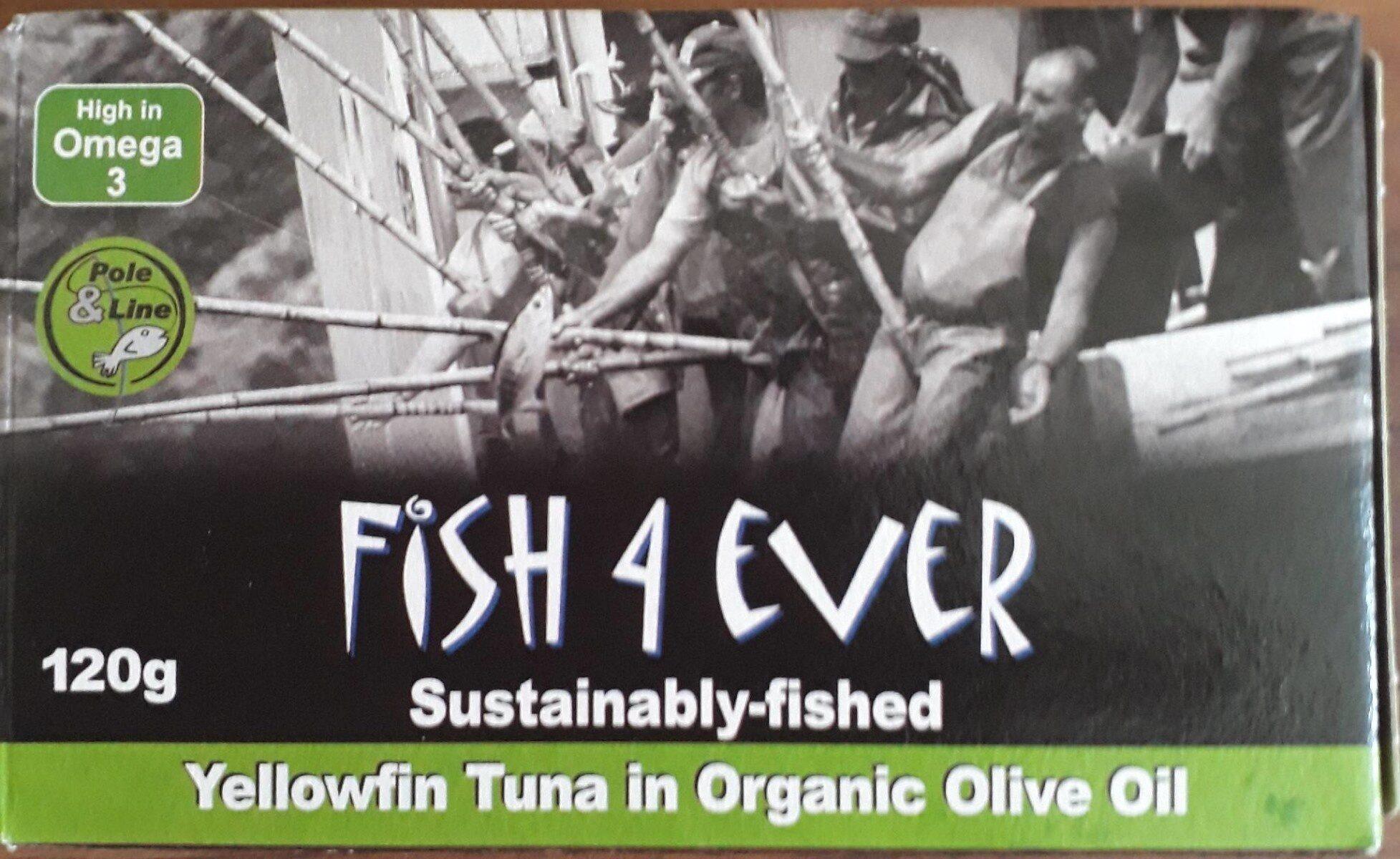 Thon Albacore Huile Olive Bio 120G - Prodotto - fr