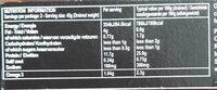 Thon Albacore Huile Olive Bio 120G - Valori nutrizionali - fr