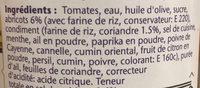 Morrocan Style Tagine Sauce - Ingredienti - fr