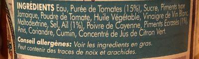 Harissa Paste - Ingredients