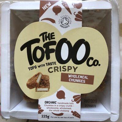 Crispy tofu wholemeal chunkies - Produit