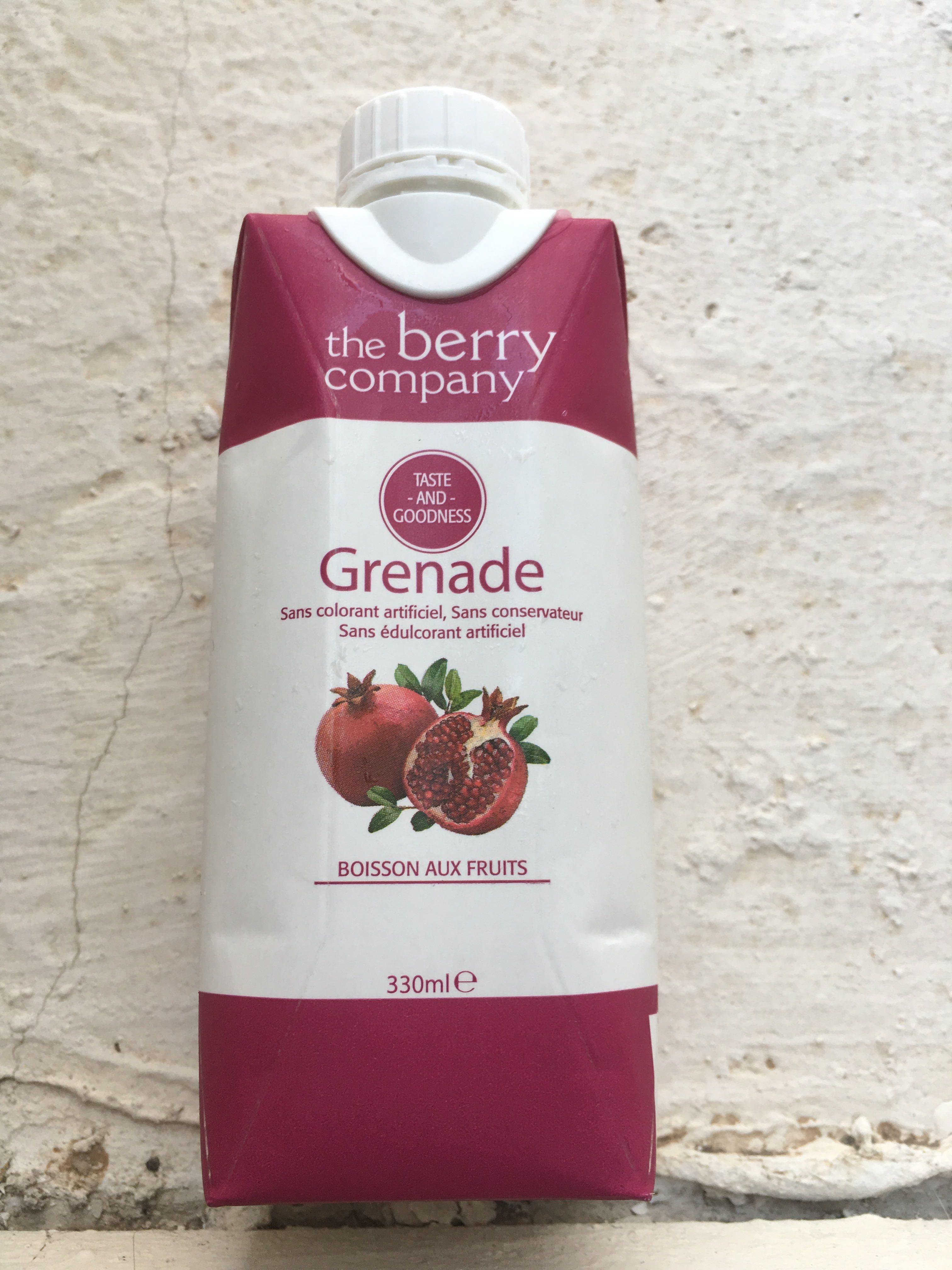 Pomegranate - The Berry Company, Pomegranate And O... - Produit - fr