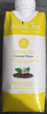 Yellow Tea Coconut Water - Producto