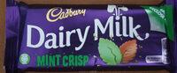 Cadbury dairy milk chocolate bar mint - Produit - en