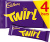 Cadbury twirl chocolate bar - Product