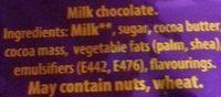 Freddo - Ingredients