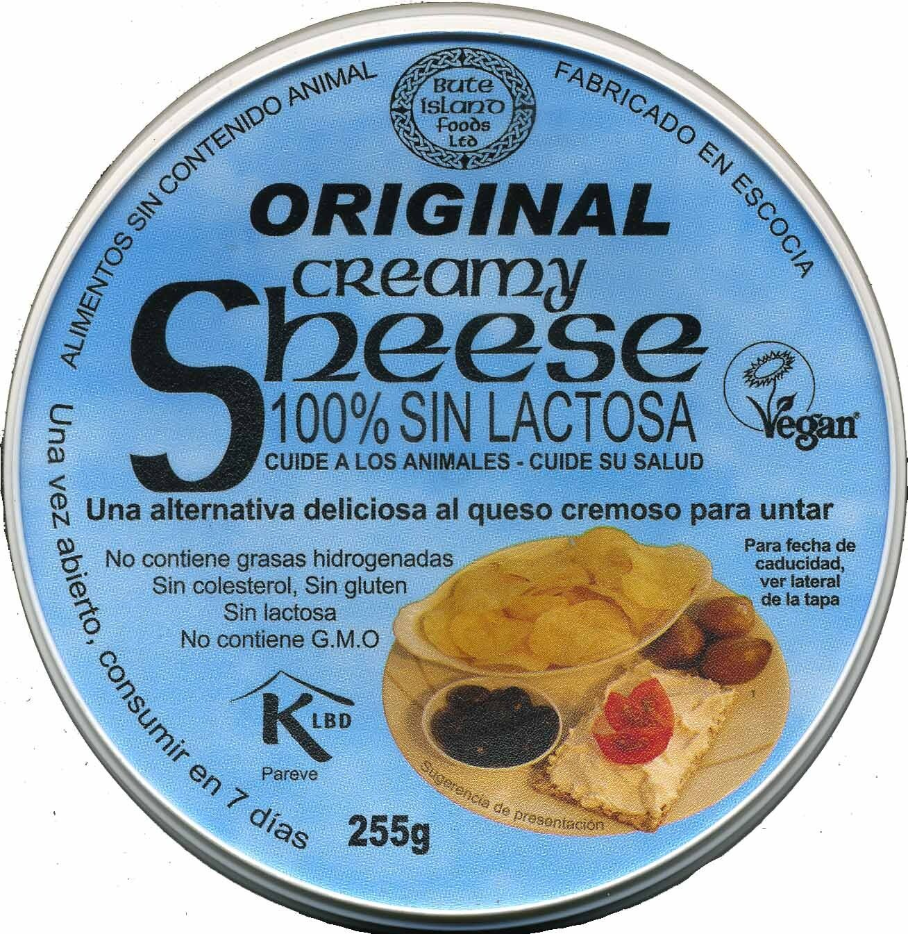 Queso vegetal Creamy Original - Product - es